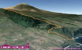 poctivej trek z Playa del Socorro až na Pico del Teide