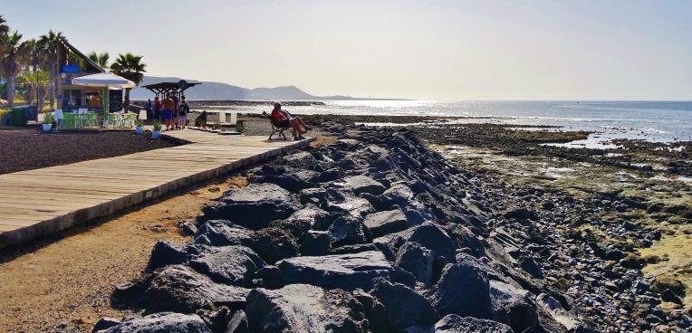 pobřeží Las Americas