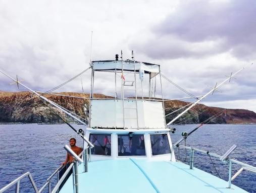 pravá rybářská bárka